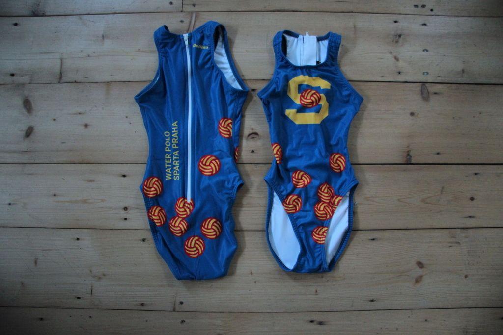Dívčí/dámské plavky s logem